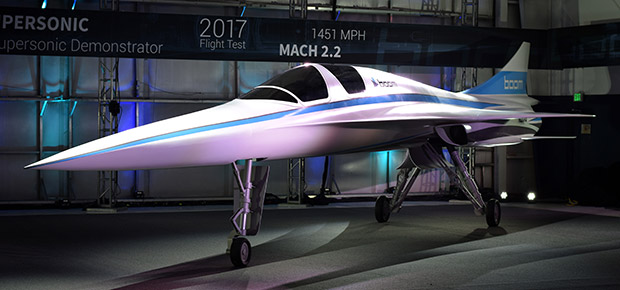 Additive manufacturing enables design freedom and production speed of Boom's XB-1 supersonic demonstrator (Photo courtesy: Business Wire).