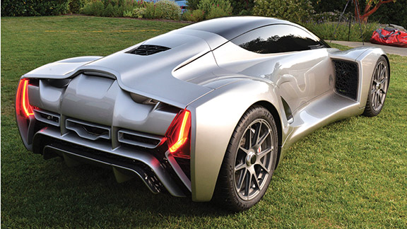 To demonstrate its NODE auto manufacturing system, Divergent 3D built the supercar Blade. Image courtesy of Divergent 3D.