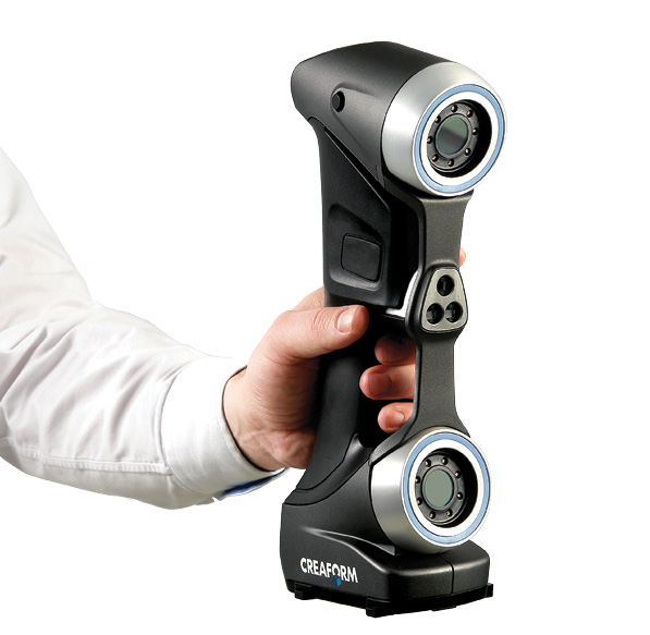 Creaform's HandySCAN 3D, a metrology-grade scanner for handheld use. Image courtesy of Creaform.