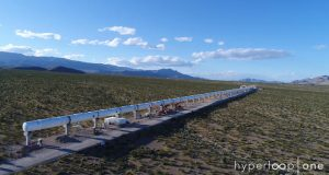 Hyperloop One tube test track