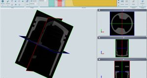 BETA CAE Systems says that its RETOMO software has a minimal, intuitive user interface that groups tools and functions together on a ribbon bar, as shown here. Image courtesy of BETA CAE Systems.