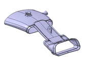(1) Front air inlet: top part in WINDFORM XT 2.0.