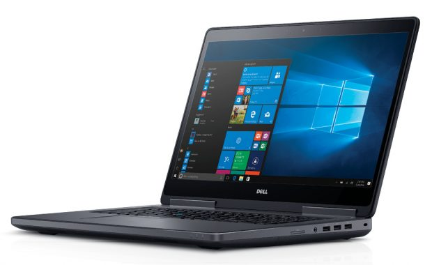 The Dell Precision 7720 17-in. mobile workstation can be configured with 7th Generation Intel Core i5, i7 and Intel Xeon processors. Image courtesy of Dell.