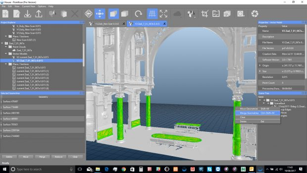 Arithmetica has announced the impending release of version 3 of its Pointfuse software for converting point-cloud data to 3D models. Image courtesy of Arithmetica Ltd.