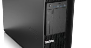 The new Lenovo ThinkStation P910 is an update of the company's flagship workstation, designed to meet the needs of the most demanding users. Image courtesy of Lenovo.