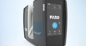 A short-range, ultra-portable industrial scanner, the FARO FocusS 70 is the newest member of the FARO Focus family of laser scanners. Image courtesy of FARO Technologies Inc.