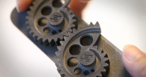 With HP Jet Fusion 3D printing technology, you can create what was once a piece-part product as a single printed object. Image courtesy of HP Development Co LP.