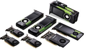 NVIDIA's Quadro GPUs are the company's offerings for the professional workstation line. Image courtesy of NVIDIA.