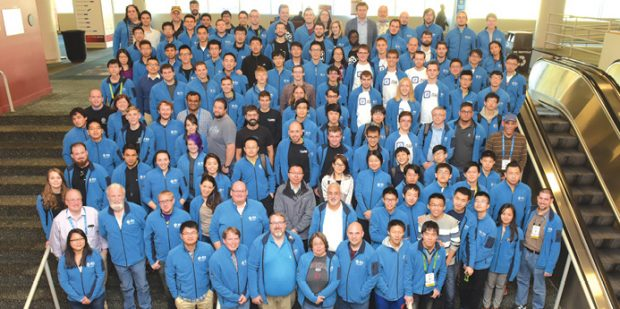 Student Cluster Competition (SCC) teams and advisors come from all areas of HPC. Image courtesy of SCC.