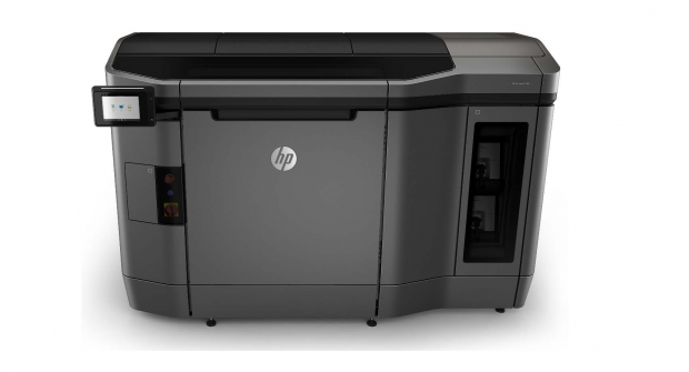 HP's Jet Fusion line of 3D printers offer technology that can manipulate a part's material properties voxel by voxel, enabling new design and manufacturing applications. Image courtesy of HP Inc.