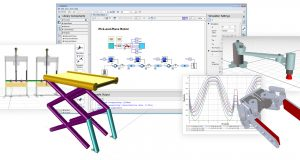 Maplesoft says that MapleSim 2017, the latest release of its advanced system-level modeling tool, provides new model development and analysis capabilities that make creating digital twins and other virtual prototypes easy. Image courtesy of Maplesoft.