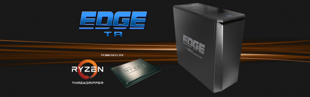 The Edge TR workstation from NextComputing is built around the latest AMD Ryzen Threadripper CPU, the 1950x. The 16-core AMD Ryzen Threadripper 1950x processor, when combined with the AMD X399 chipset, provides the Edge TR with 40MB of combined cache and multiple I/O lanes. Image courtesy of NextComputing.