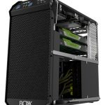 The APEXX S3 workstation debuts BOXX's next-generation chassis. The company says that it removed unused, outdated technology such as optical drive bays from the APEXX S3 chassis to maximize productive space within the system's enclosure. Image courtesy of BOXX Technologies.