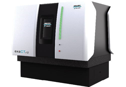 The Wenzel exaCT U desktop CT solution can be customized for different applications. Image courtesy of Wenzel America.