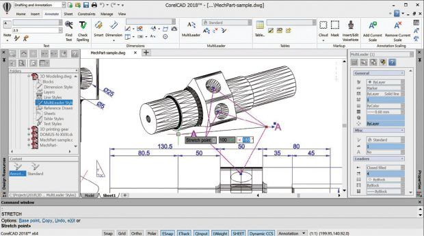 corelcad 2018 an affordable autocad alternative digital engineering