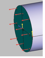 Fig. 9: The constraint system used in the tie rod model.