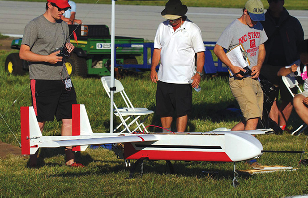 The AUVSI SUAS competition requires students to design, integrate, report on and demonstrate an unmanned air system capable of autonomous flight and navigation, remote sensing and execution of specific tasks.
