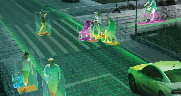 Autonomous driving and smart cities data integration will increase demand for dedicated engineering computing clusters. Image courtesy of NVIDIA.