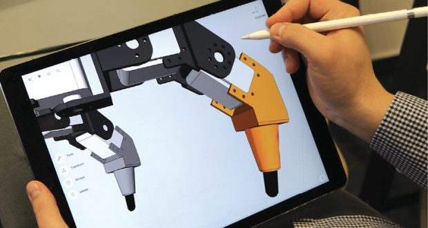 Shapr3D is among the developers who believe there's a need for a full-scale CAD design application for mobile devices and pen input.