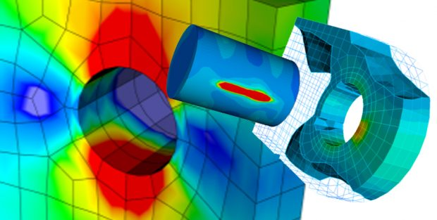 The EPILYSIS FEA (finite element analysis) solver sees overall performance and accuracy enhancements as well as such new features as manufacturing constraints in its 18.1.0 release. Image courtesy of BETA CAE Systems.