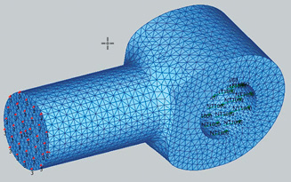 Fig. 1: Initial mesh.