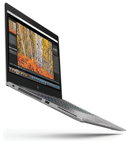 The new HP ZBook 14u G5 mobile workstation offers AMD Radeon Pro graphics. Image courtesy of HP.