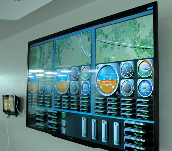 Data acquisition devices enable real-time visualization dashboards. Image courtesy of XAir Corp.