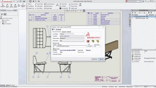 SOLIDWORKS PDM Standard enables management of design alternatives and manages revision updates.