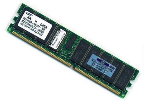 Fig. 3: An ECC memory module looks the same as a regular DRAM module.