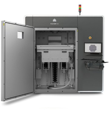 3D Systems says the ProX DMP 320 direct metal printer combined with LaserForm metal materials offer reduced waste, greater production speeds, short setup times and dense, pure metal parts. Image courtesy of 3D Systems.