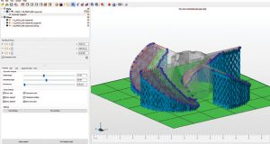 Tools within Netfabb 2018 let you analyze and repair models and add supports to hold parts in place and mitigate thermal effects during printing.