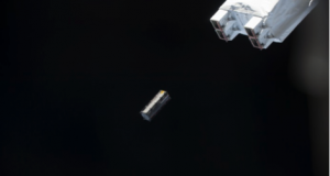 Fig. 10: TuPOD deployed. Image courtesy of JAXA / NASA.