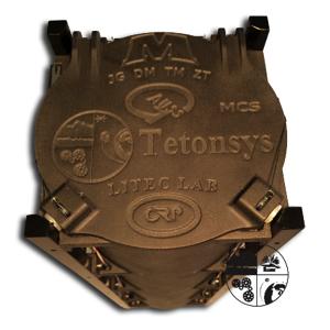 Fig. 5: Final design of the TuPOD using Windform XT 2.0. Image courtesy of Tetonsys.