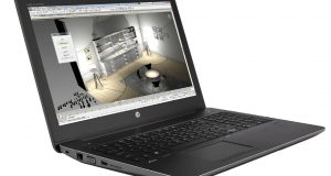 The HP ZBook 15 G4 is a stylish and powerful 15.6-in. mobile workstation. Image courtesy of HP.