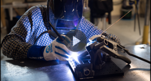 "The on-demand webinar ""Using 3D Printing for Welding Fixtures"" demonstrates that 3D printing can produce durable, custom fixturing quickly, saving both time and money. Image courtesy of Markforged Inc."