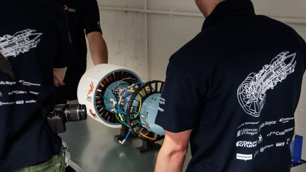 The back of the Xplorer-1: showing off its intricate wiring with the JetX team around it. Image courtesy of 3D Hubs.
