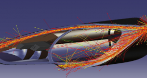 OPTIS has released the 2018 edition of its SPEOS light simulation software. Image courtesy of OPTIS.