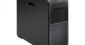 HP has announced that it will offer its engineering-class HP Z4 desktop workstation with a choice of an Intel Xeon or Intel Core X-series processor as well as up to two extreme graphics accelerators. Image courtesy of HP Inc.