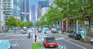 Autonomous driving and its safety was a part of the discussion at Siemens' Innovation Day in Chicago. Image courtesy of Siemens PLM Software.