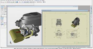The V15.5 release of the Kubotek line of CAD/CAM products provides updates to six CAD file translators. Image courtesy of Kubotek3D.