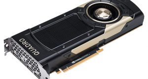 "NVIDIA reports that its Quadro GV100 with Volta architecture brings ""unprecedented"" capabilities for deep learning, rendering and simulation to designers, engineers and scientists. Image courtesy of NVIDIA Corp."