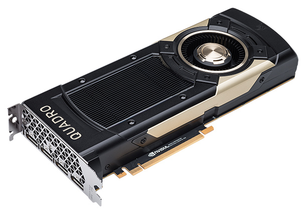 """NVIDIA reports that its Quadro GV100 with Volta architecture brings """"unprecedented"""" capabilities for deep learning, rendering and simulation to designers, engineers and scientists. Image courtesy of NVIDIA Corp."""