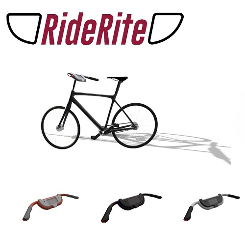 Ride Rite bicycle handlebar. Image courtesy of Stanford Center on Longevity.