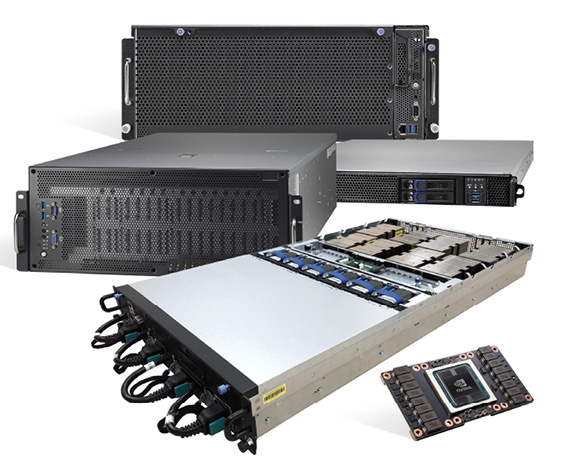 Tyan is one of several computer vendors with new systems using the latest NVIDIA GPU technology, designed for DL and other computationally intensive applications. Pictured is the Tyan Thunder HX FA77B7119. Image courtesy of Tyan.