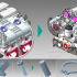 The new EX8.0 releases of Elysium's ASFALIS and CADdoctor multi-CAD interoperability solutions offer enhanced geometry simplification functionality that reduces file sizes and enables flexible adjustments during the simplification process. Image courtesy of Elysium Inc.