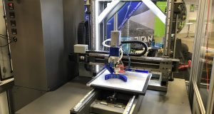 Custom Atlas 3D printer powered by Yaskawa. Image courtesy of Titan Robotics.