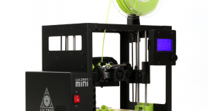 The compact LulzBot Mini 2 features numerous updates and upgrades. Image courtesy of Aleph Objects.