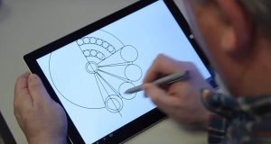 Siemens PLM Software's Catchbook uses automatic shape recognition to turn rough hand-drawn objects into precise geometric objects. Image courtesy of Siemens PLM Software.
