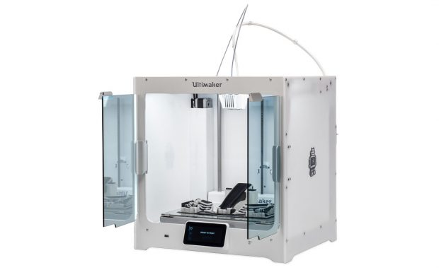 Ultimaker says that the combination of its newest 3D printer, the Ultimaker S5, and its new Tough PLA material enables designers and engineers to 3D print large, warp- and delamination-free models for applications such as functional prototyping, tooling and manufacturing aids. Image courtesy of Ultimaker.