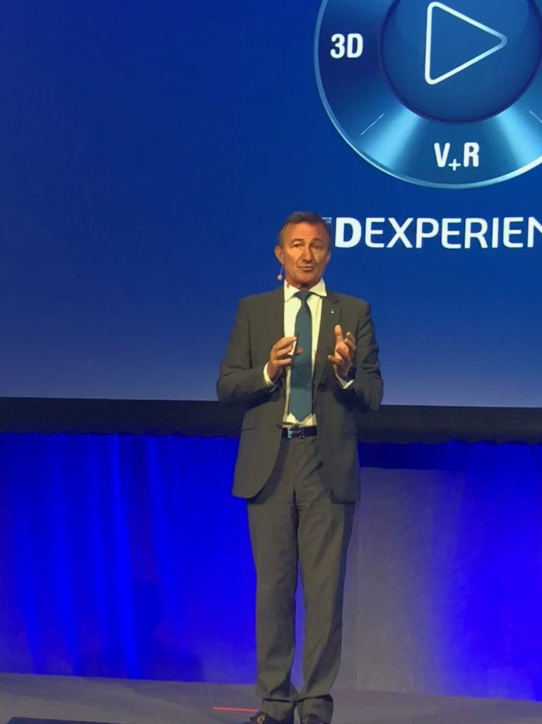 Dassault Systemes President and CEO Bernard Charles says the value is in the experience the product provides, not the product itself.